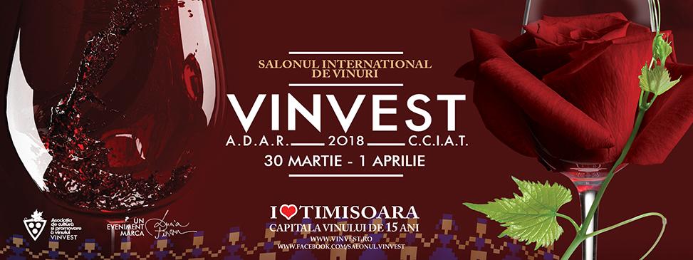 Salonul International de Vinuri, Timisoara 30 martie – 1 aprilie 2018, editia a 15-a